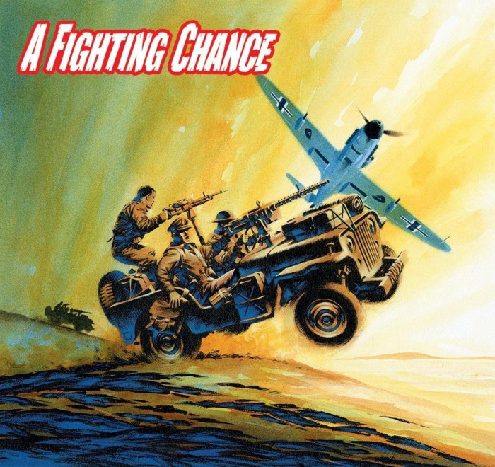Commando 5446 - Silver Collection: A Fighting Chance Full