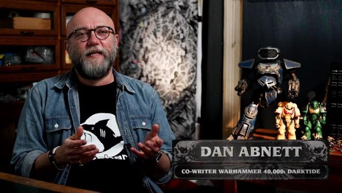 Dan Abnett talks Warhammer 40,000: Darktide