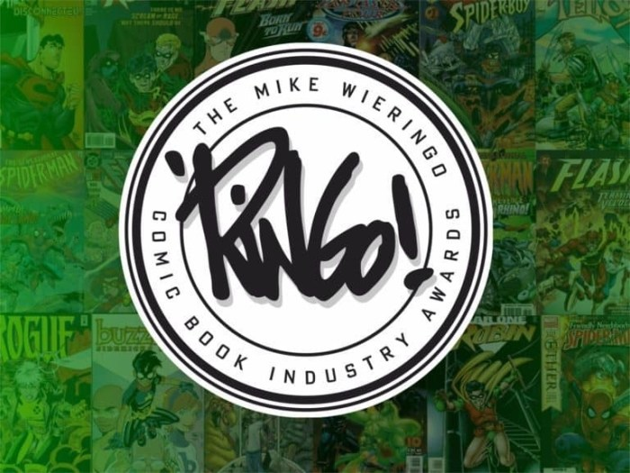 Mike Wieringo Comic Book Industry Awards - Ringo Awards Banner