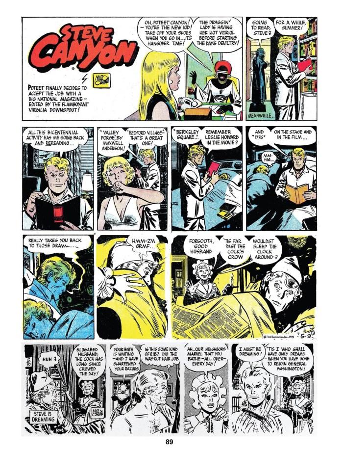 Comics Revue #421-44, June 2021 - Steve Canyon