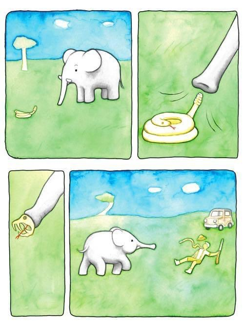 Rewriting Extinction - Sample Art