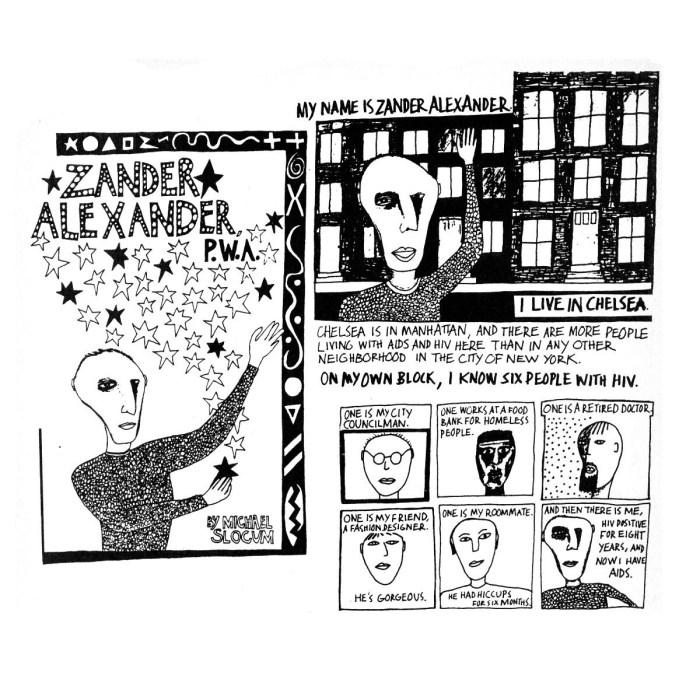 Zander Alexander, PWA by Michael Slocum
