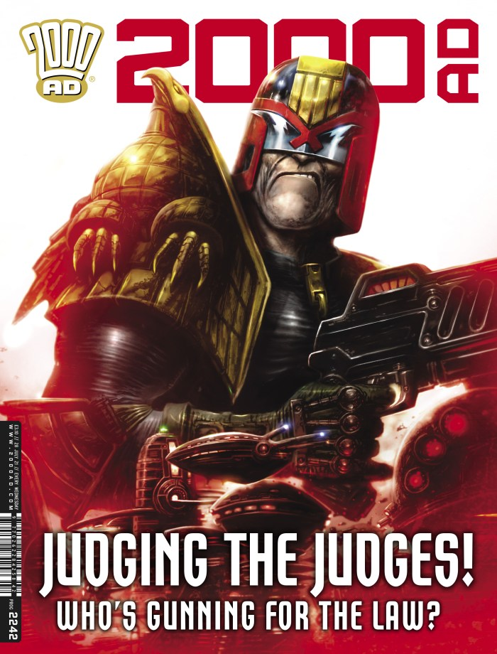 2000AD Prog 2242 - cover by Clint Langley