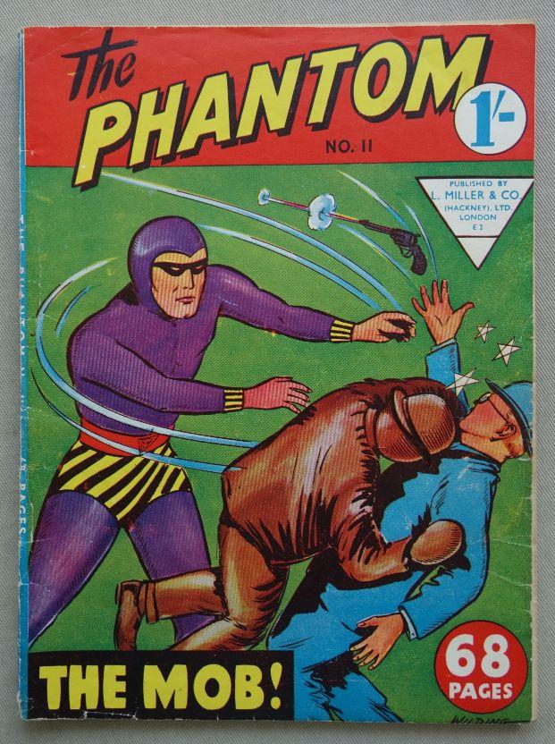 The Phantom Illustrated comic #11 (1950s) L Miller