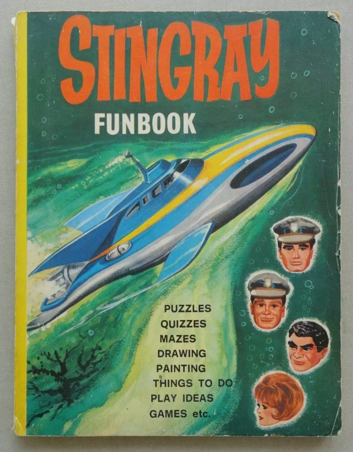 Stingray Funbook 1965 Gerry Anderson WDL