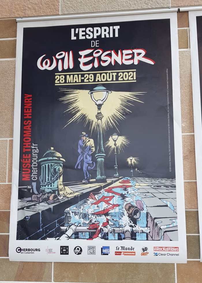 Musee Thomas Henry - The Spirit of Will Eisner Exhibition Poster 2021