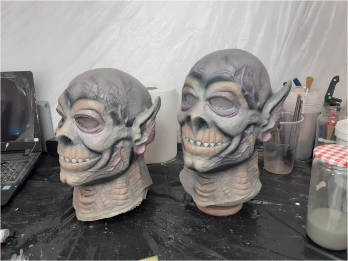 """This """"Exterminus"""" mask is the work of Isidro Campos, based on the original non-copyright creation used to bring Doomlord to life in Eagle"""