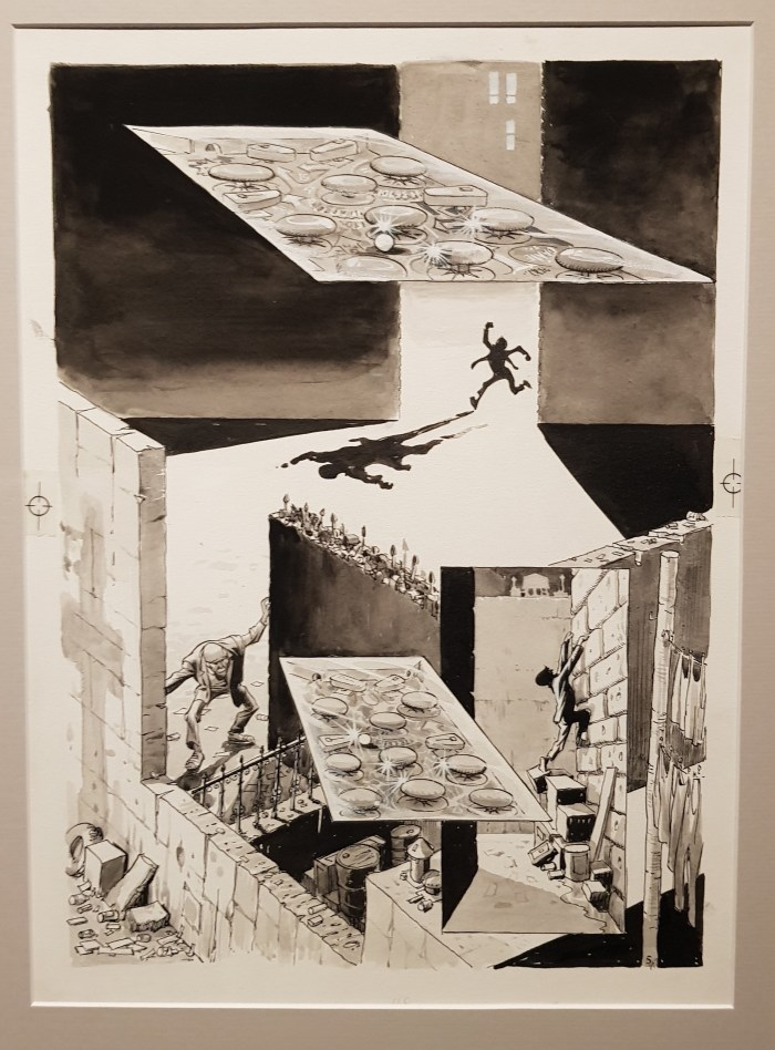 Maze from New York: The Big City (1986) - Art by Will Eisner - Dropsie Avenue