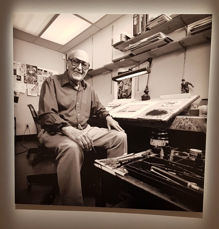 Musee Thomas Henry - The Spirit of Will Eisner Exhibition - Will Eisner