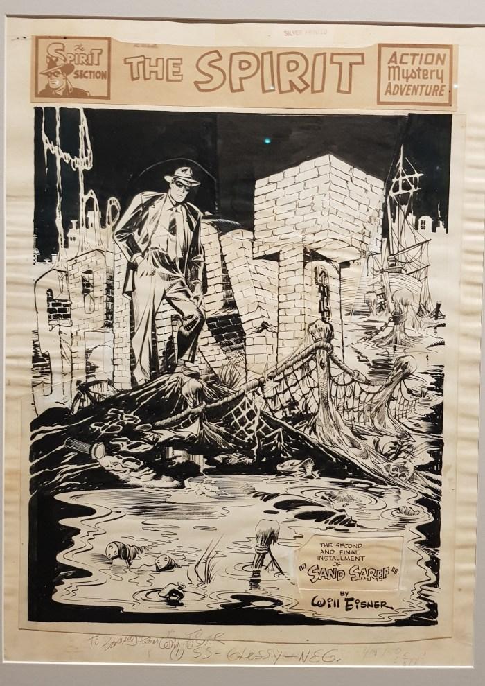 """The Spirit - """"Bring in Sand Saref"""" (Jan 15, 1950) by Will Eisner"""