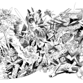 Limited edition 40th anniversary Nemesis the Warlock print by Kevin O'Neill (2021)