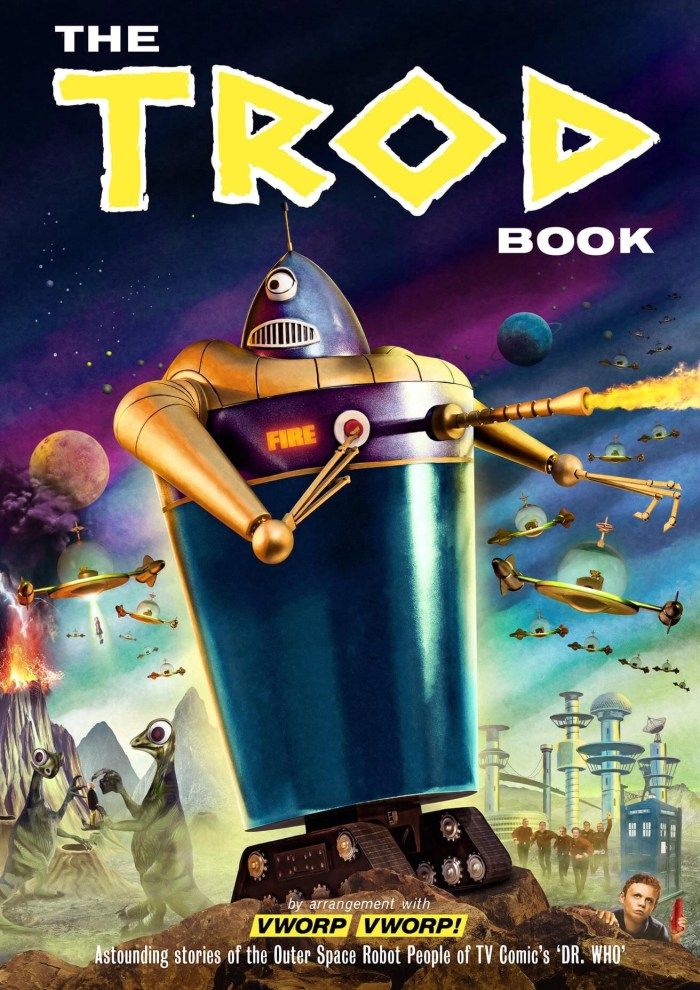 Vworp Vworp! Issue Four, coming in August 2021. Trod and Klepton ship models by Phil Stevens, artwork assembled by Colin Brockhurst. Cover 3 of 3. Available to preorder later this month