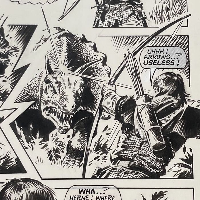 Look-In- Robin of Sherwood - Beast from the Past (19860 - art by Mike Noble
