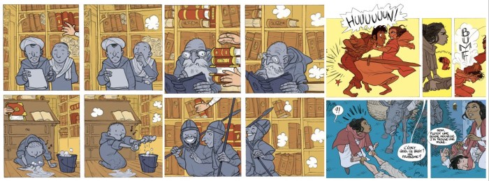 Léonard Chemineau teased these images from La Bibliomule de Cordoue earlier this year in Twitter