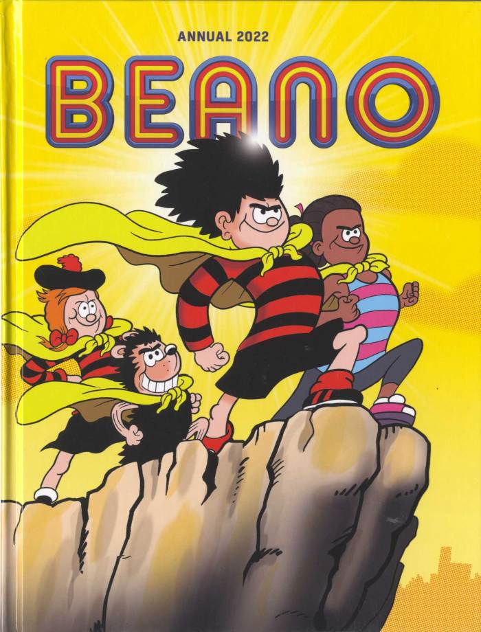 Beano Annual 2022 - Cover by Nigel Parkinson
