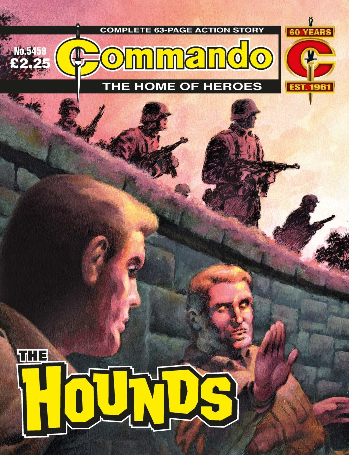 Commando 5459: Home of Heroes: The Hounds - cover by  Ian Kennedy