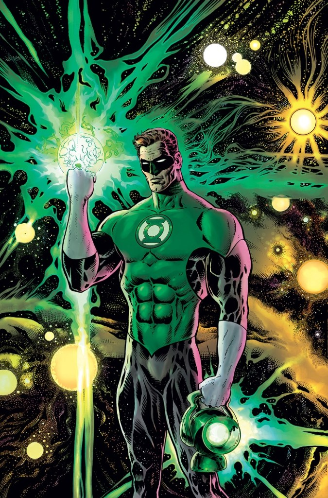 Green Lantern #1 - cover by Liam Sharp