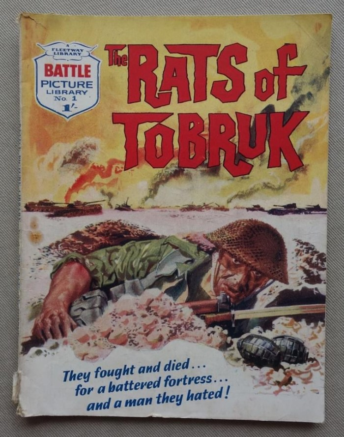 Battle Picture Library No. 1 - The Rats of Tobruk