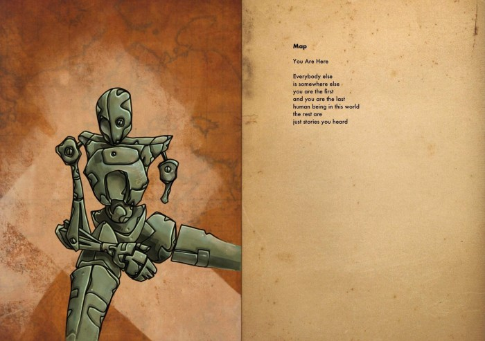 Map, poems by Sam Smith, illustrated by Mal Earl