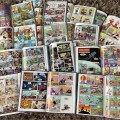 A snapshot of all the strips on offer in the first Wallop! Annual from Volcano Comics. Image: Volcano Comics