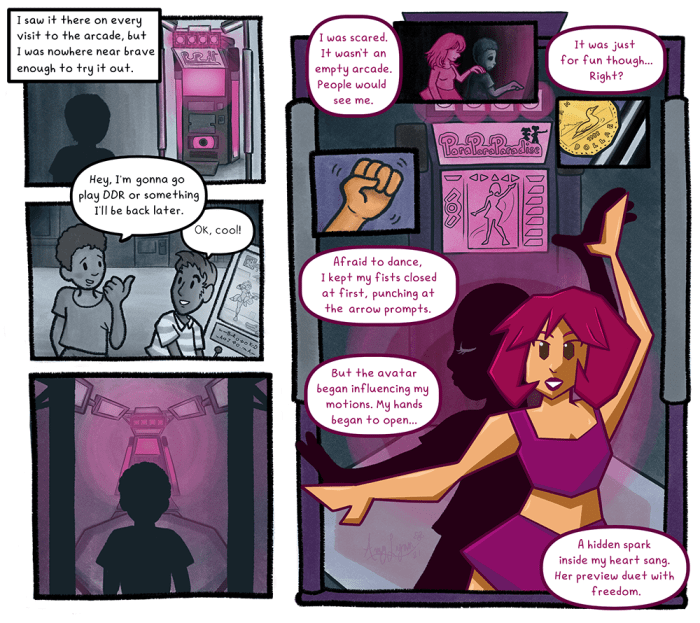 When I Was Me: Moments of Gender Euphoria - art by Amy Lynn Greig