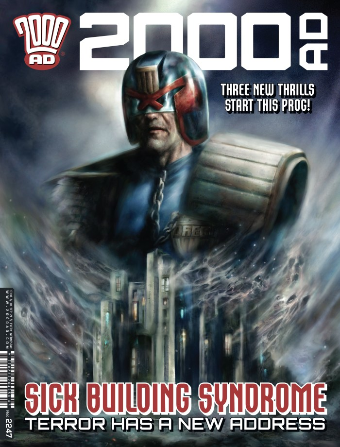 2000AD Prog 2247 - cover by Nick Percival