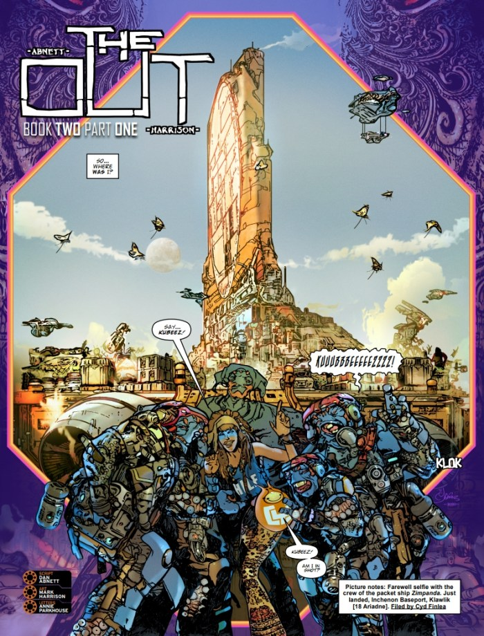 2000AD Prog 2250 - The Out