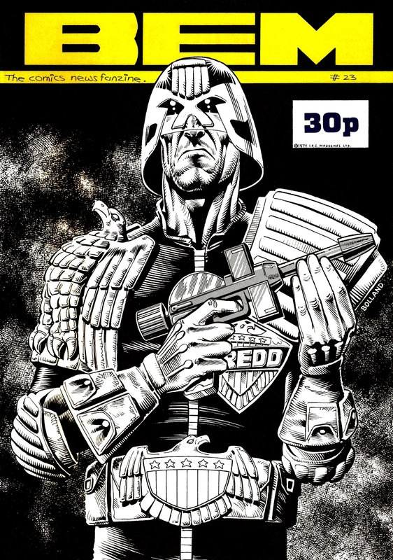 BEM 23 - Cover by Brian Bolland