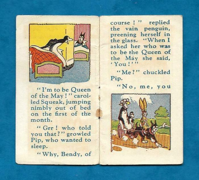 Merry Miniatures - Pip, Squeak and Wilfred (1920s)