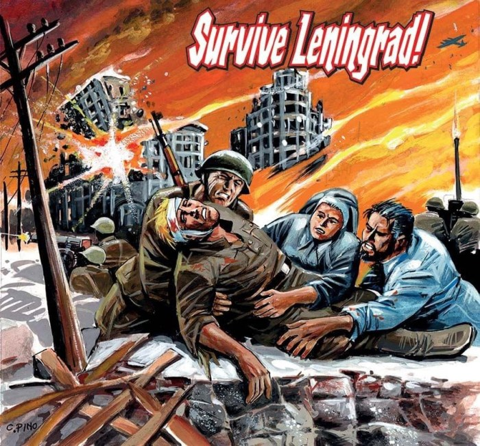 Commando 5467: Home of Heroes - Survive Leningrad! - Cover by Carlos Pino Full
