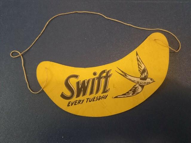 SWIFT Retail Promotion Item. Via Richard Sheaf