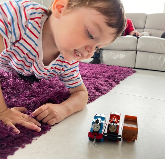 Ollie with Thomas & Friends