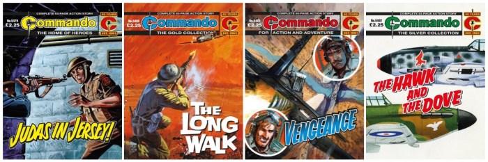 Commando Issues 5479 - 5482