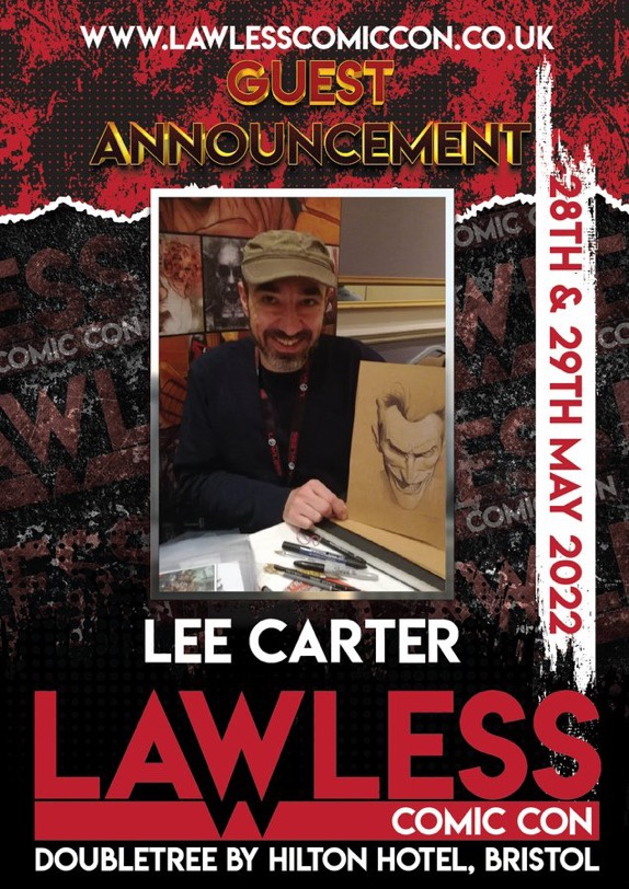 Lawless Comic Con Guest 2022 - Lee Carter