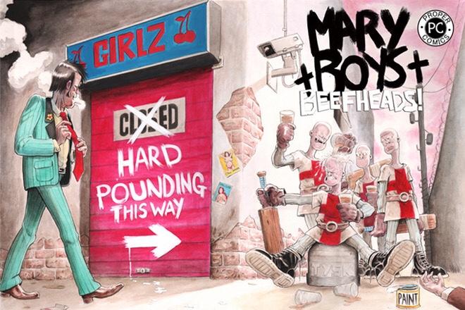 Crowdfunding Spotlight: Mary Boys: Beefheads, by Karl Stephan