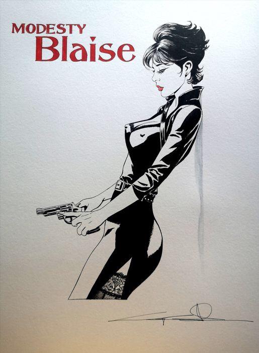 Giuseppe Candita - Modesty Blaise homage (2021)