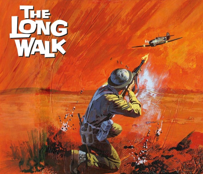 Commando 5480: Gold Collection- The Long Walk - cover by Penalva - Full
