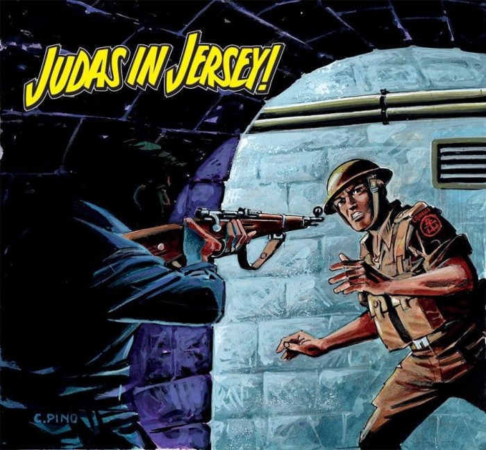 Commando 5479: Home of Heroes - Judas in Jersey - cover by Carlos Pino - Full Cover