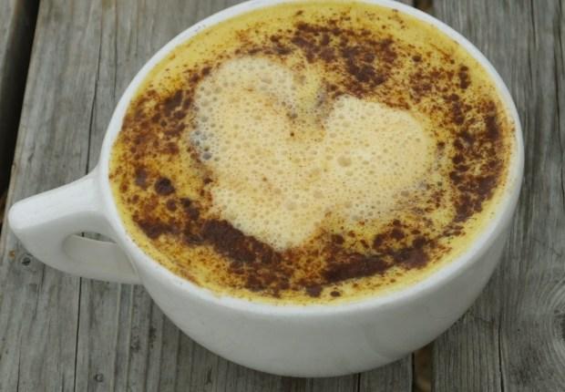 pumpkin turmeric tea