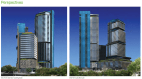 Proposed three-tower Waller Park Place at Red River & Cesar Chavez