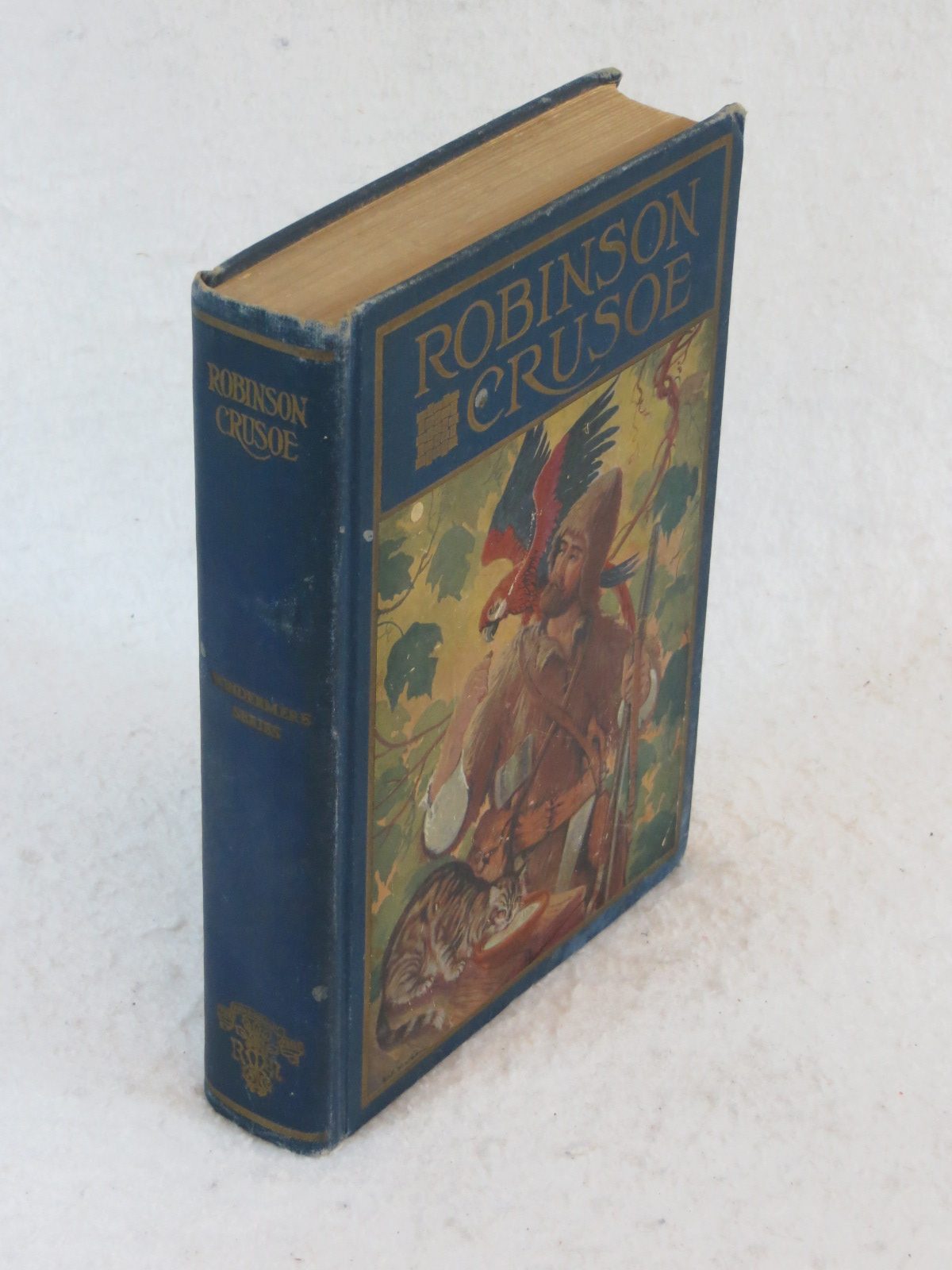 Daniel Defoe Life And Adventures Of Robinson Crusoe Rand
