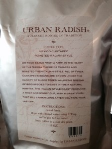 Urban Radish Coffee