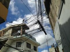 Bootlegged power lines