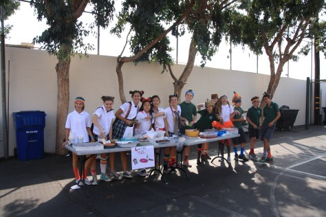 SBS Students sold treats and creatively dressed up their uniforms to raise money on Crazy Day