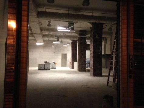 What's going on inside the former Rainbow store