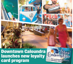 downtown caloundra launches loyalty card