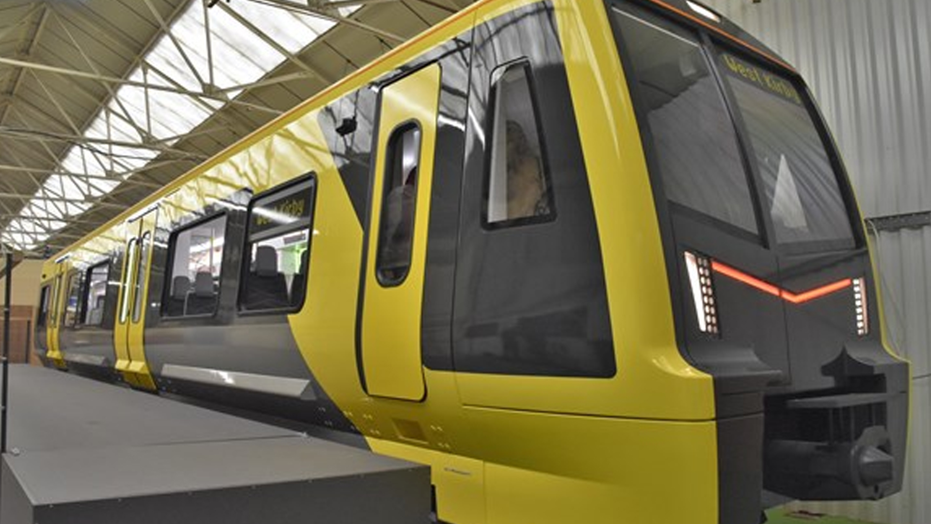 Get A First Look Full Size Replica Of New Merseyrail