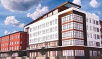 Rendering of Salvation Army residential facility in Madison, WI