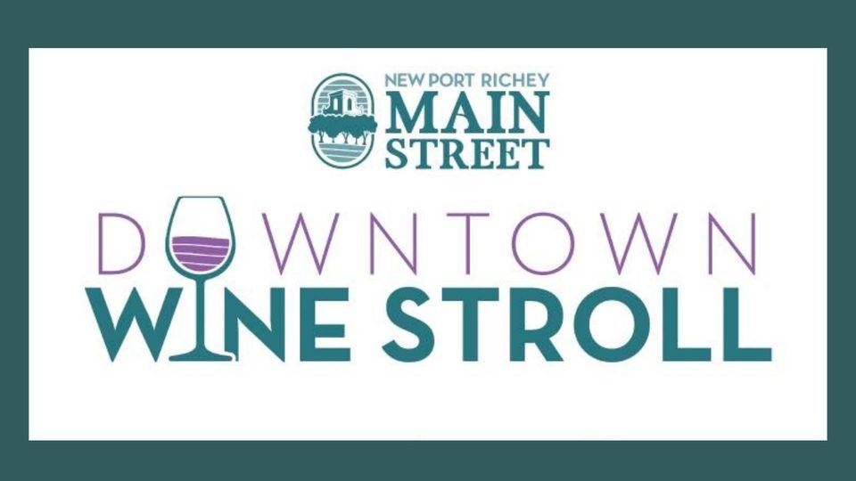 NPR Main Street Downtown Wine Stroll Logo