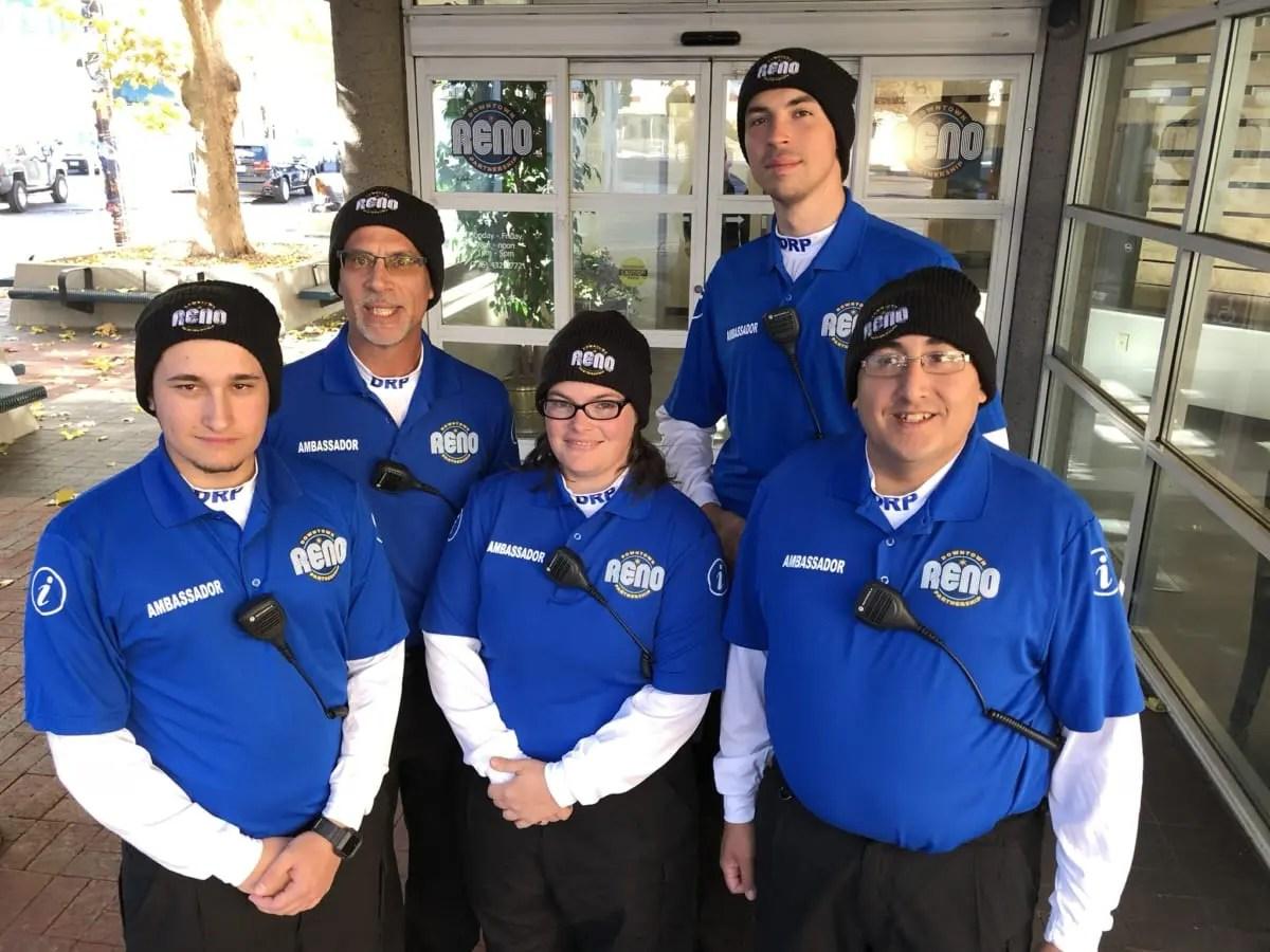 Downtown Reno ambassadors